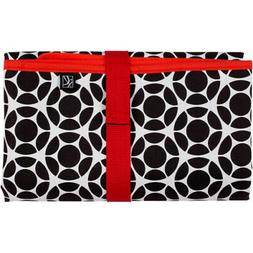 J.L. Childress Full Body Changing Pad - Black/Floral