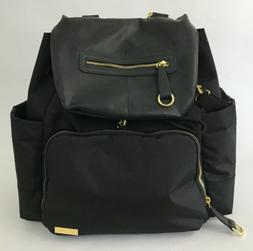 """Skip Hop Chelsea Downtown Chic Diaper Backpack, Black"""