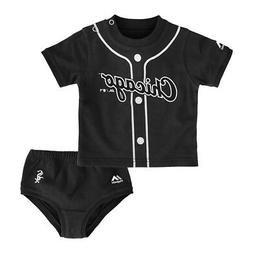 "Chicago White Sox MLB ""Little Player"" Creeper & Diaper Set I"