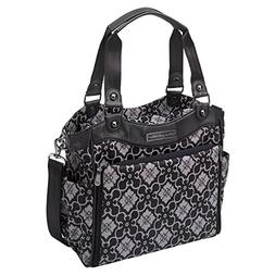 Petunia Pickle Bottom City Carryall in London Mist