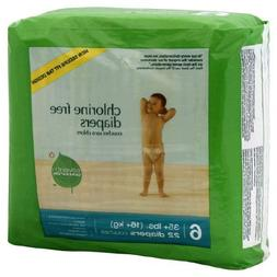 Seventh Generation Free & Clear Diapers, Stage 6, 35 Plus Po