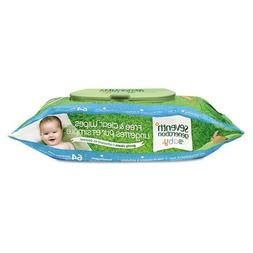 Seventh Generation 34208 Free & Clear Baby Wipes Unscented W