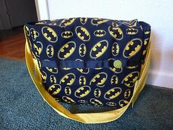 CLEARANCE**BATMAN**Handmade diaper bag