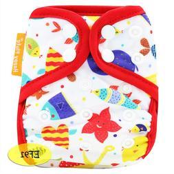 Cloth Diaper Cover Baby Wrap Reusable Nappy Washable Tiny Po