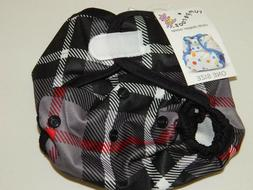 Rumparooz Cloth Diaper Cover ~ One Size ~ Plaid
