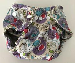 Buttons Diapers Cloth Diaper Cover,Posy,One Size