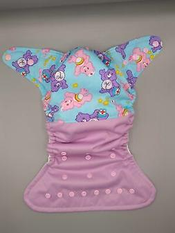 Cloth diaper SassyCloth one size pocket diaper with care bea