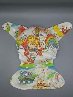 Cloth diaper SassyCloth one size pocket diaper with Rainbow