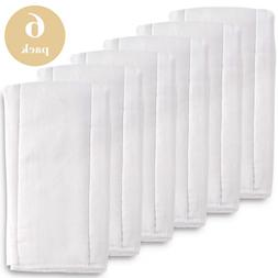 Cloth Diapers Prefold Covers 6 Pack - 6 ply 100% Unbleached