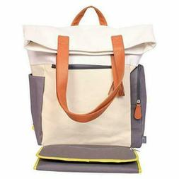 Cloud Island Color Block Backpack Diaper Bag, diaper bag, NE