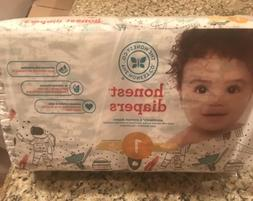 Honest Company Baby Diapers Size 1 Space   8-14 Pounds FREE