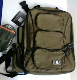 Diaper Dude Cool Diaper Bags Back Pack Olive Green New NWT