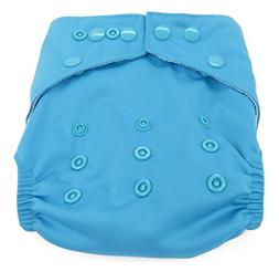 Dandelion Diapers Diaper Cover Shell with Snaps, Sky