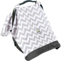 Itzy Ritzy Cozy Happens Muslin Infant Car Seat Canopy Diaper