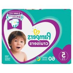 Pampers Cruisers Disposable Diapers Size 5  *Free 2 day ship