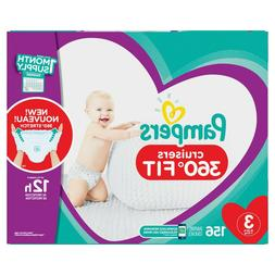 Pampers Cruisers 360˚ Fit Diapers Size 3-6*BEST SERVICE AND