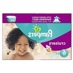 Pampers Size 6 Cruisers Diapers 84 Count
