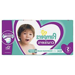 Pampers Cruisers Diapers Size 5, 104 Count