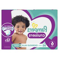 Pampers Cruisers Diapers Size 6, 86 Count