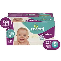 Pampers Cruisers Disposable Baby Diapers, Size 3,174 Count,