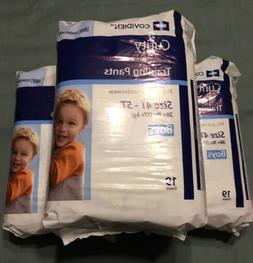 Covidien Curity 3-pk Boys Training Pants Diapers New XL 4T-5