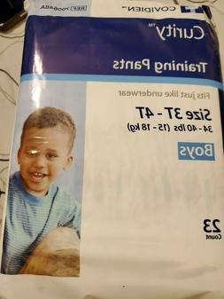 Covidien Curity Boys Training Pants Diapers New XL 3T-4T 23