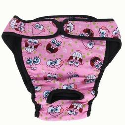 Cute Large/Med. And Small Dog Washable Female Dog Diaper San