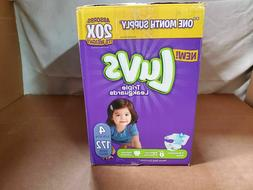 Luvs LUVSD Diapers Size 4, 172 Count - Luvs Ultra Leakguards