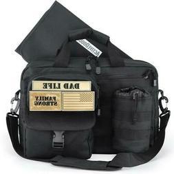 Active Doodie Dad Diaper Bag Messenger, Baby Bags for Dad -