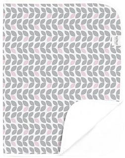 Kushies Baby Deluxe Change Pad, Grey Petal