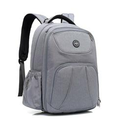 Diaper Backpack, Large Capacity Laptop Back, Multi-Function