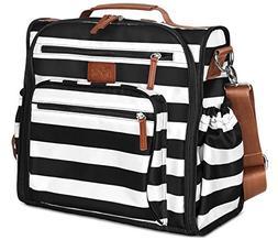 Diaper Bag Backpack by Hip Cub - Convertible W/Cute Designer