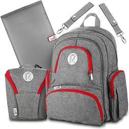 Baby Diaper Bag Backpack for Girls & Boys –Large Diaper Ba