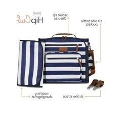 Diaper Bag Backpack by Hip Cub - Convertible W/ Cute Designe