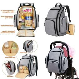 Diaper Bag Backpack, Large Multifunction Waterproof Travel B