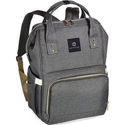 Soulsten Diaper Bag Backpack, Stylish for Mom and Dad, Multi