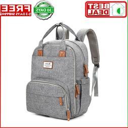 Diaper Bag Backpack,RUVALINO Large Multifunction Travel Back