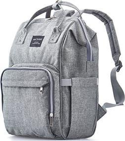 KiddyCare Diaper Bag Backpack, Multi-Function Waterproof Mat