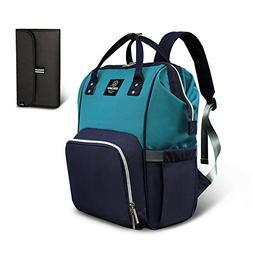 Pipi bear Diaper Bag Travel Backpack Large Capacity Tote Sho