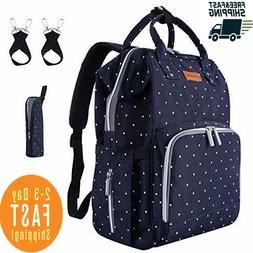 Diaper Bag Backpack Waterproof Travel Nappy Baby Care Large