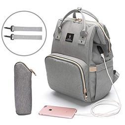 Baby Diaper Bag Travel Mom Backpack Waterproof Large Capacit