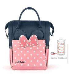 Disney Diaper Bag Thermal Insulation High capacity Baby Feed