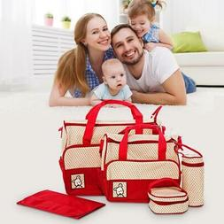 Diaper Bag Tote Five Piece Matching Sets Diaper Bag Boy Diap