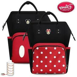 Disney Diaper Bags Mickey Minnie Mouse for Baby Care Mummy B