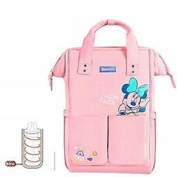 Disney Diaper Bags USB heated waterproof maternity bag feedi