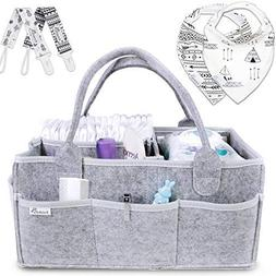 Putska Baby Diaper Caddy Organizer: Portable Holder Bag for