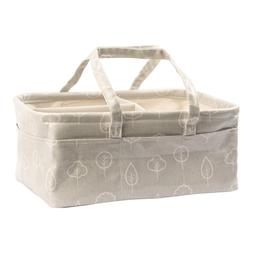 Diaper Caddy Baby Organizer by Nested Fox | WIPEABLE & Water