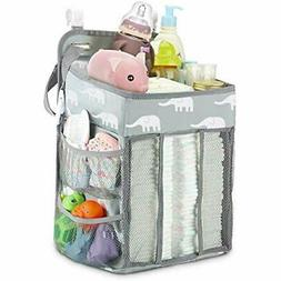 Diaper Caddy Organizer, Hanging Stacker Storage Bag For Chan