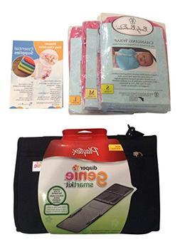 Diaper Changing Kit Bundle: On-the-go Travel Change Pad Set
