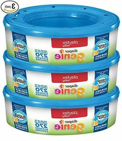 Playtex Diaper Genie Refill Bags, 3 Pack, 810 Count